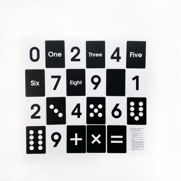 Preschool Flash Cards Numbers