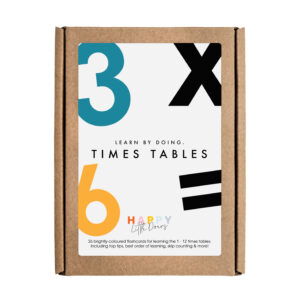 Times Tables Flashcards by Happy Little Doers