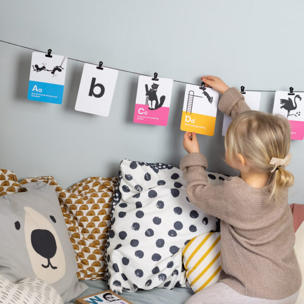 Phonics Flashcards Learn Letter Sounds with Happy Little Doers