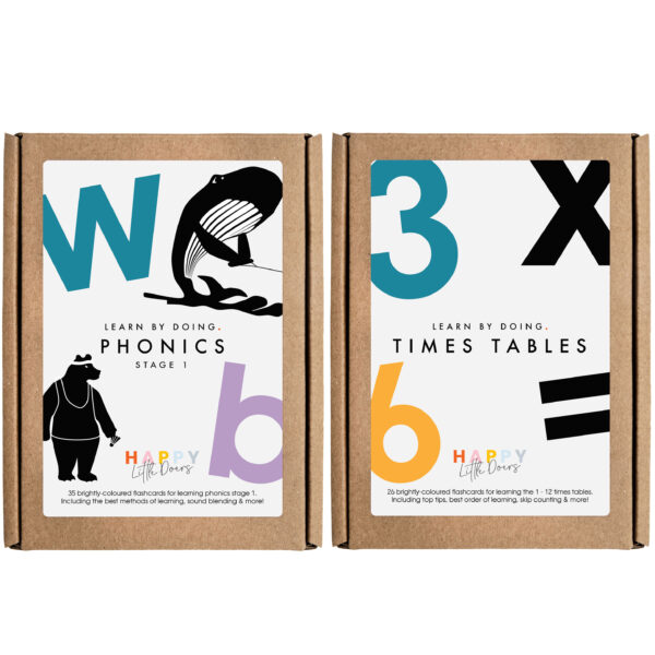 Phonics and TimesTables Flashcard Pack